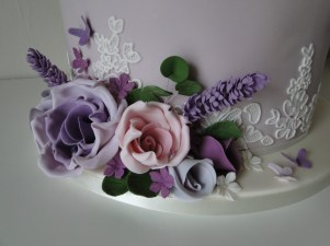 Beautiful handmade sugar flowers