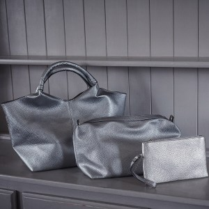 Silver Trio of Bags