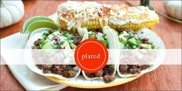 Plated Food Subscription
