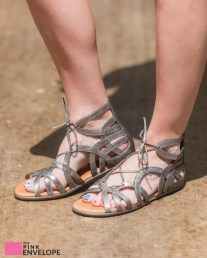 Stitch Fix Break My Heart 3 Metallis Sandal
