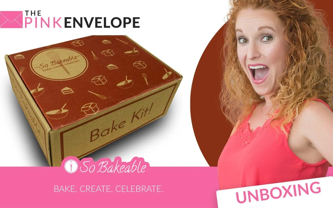 So Bakeable Review – a Monthly Dessert Box