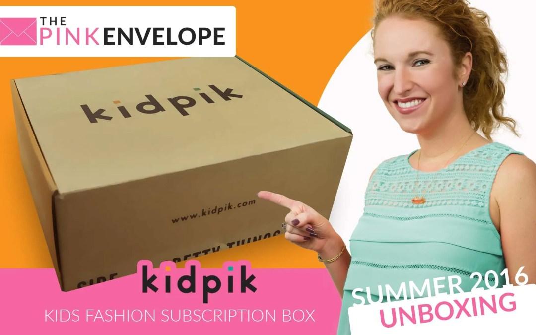 KidPik Review – Kid's Clothing Subscription
