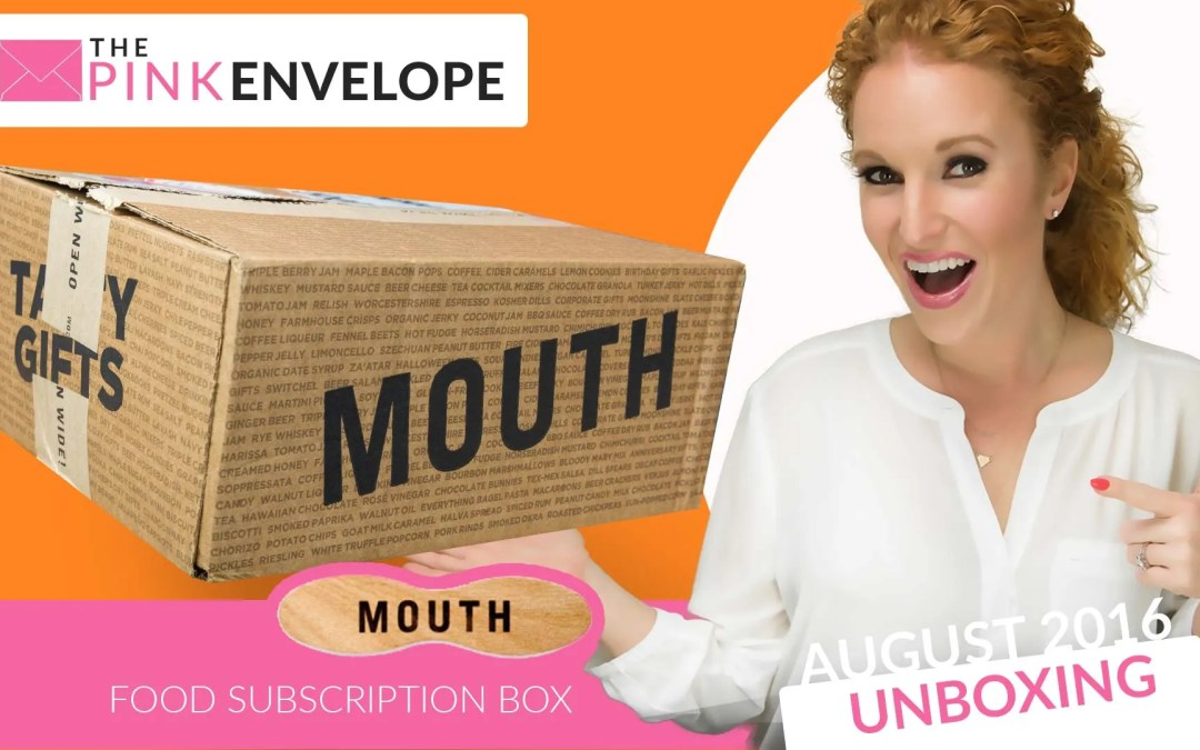 Mouth Review – Subscription Box – CLOSED