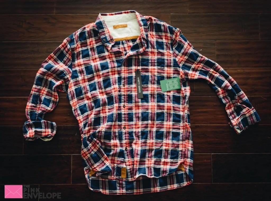 Truman Square Pocket Shirt by Nifty Genius