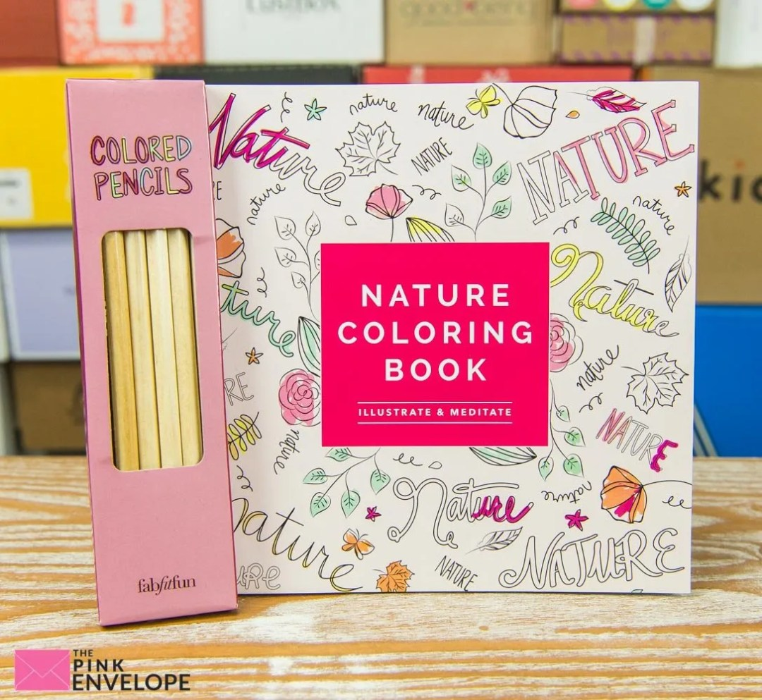 coloring book from FabFitFun