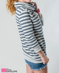 Sevilla Funnel Neck French Terry Sweatshirt