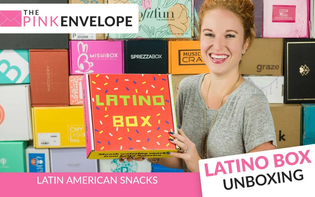 Latino Box Review – October 2016 Subscription Box