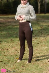 Lysse Joylyn Ponte Legging in Brown