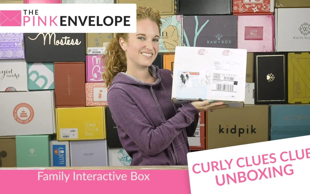 Curly Clues Club Review – Family Interactive Box