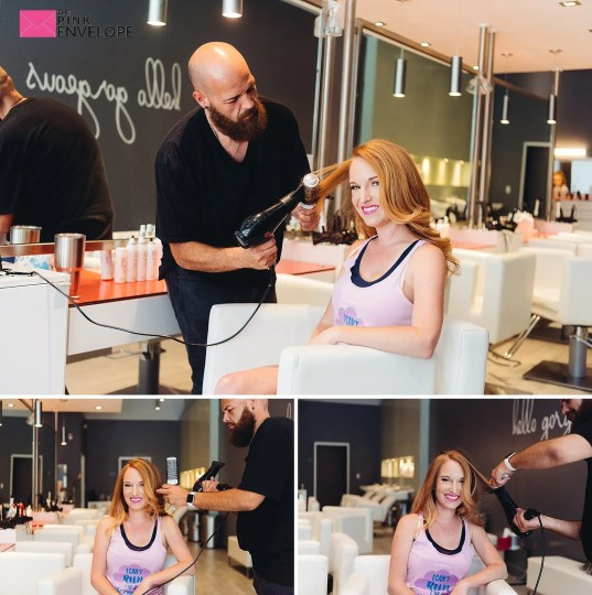 Blow dry bar in the woodlands 3