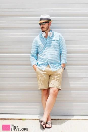 Gabriel Garment Dye Chino Short