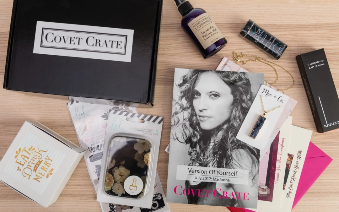 Covet Crate Subscription Box Review