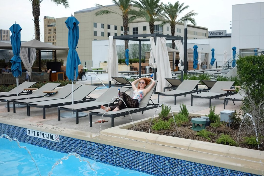 Vacationing at The Marriott Marquis Houston
