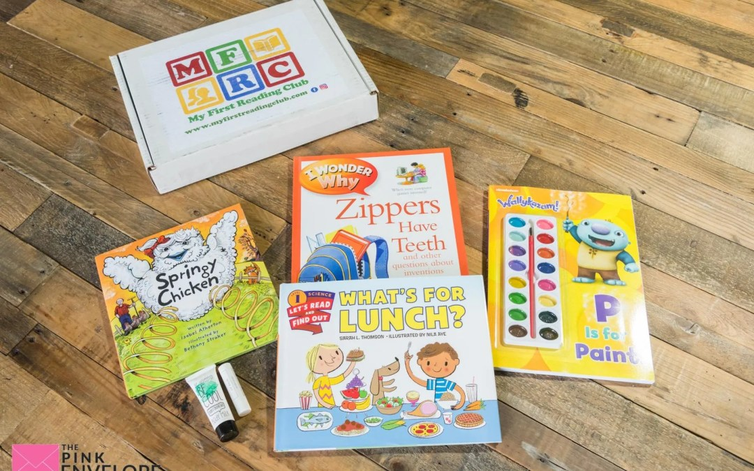 Kids Book Subscription – My First Reading Club
