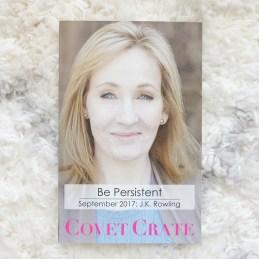 Covet Crate JK Rowling