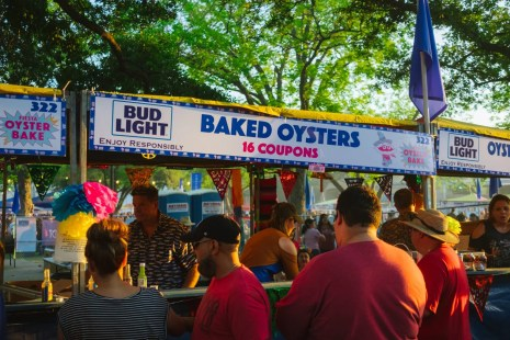 What is Fiesta Oyster Bake