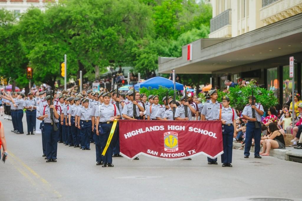 Fiesta parades