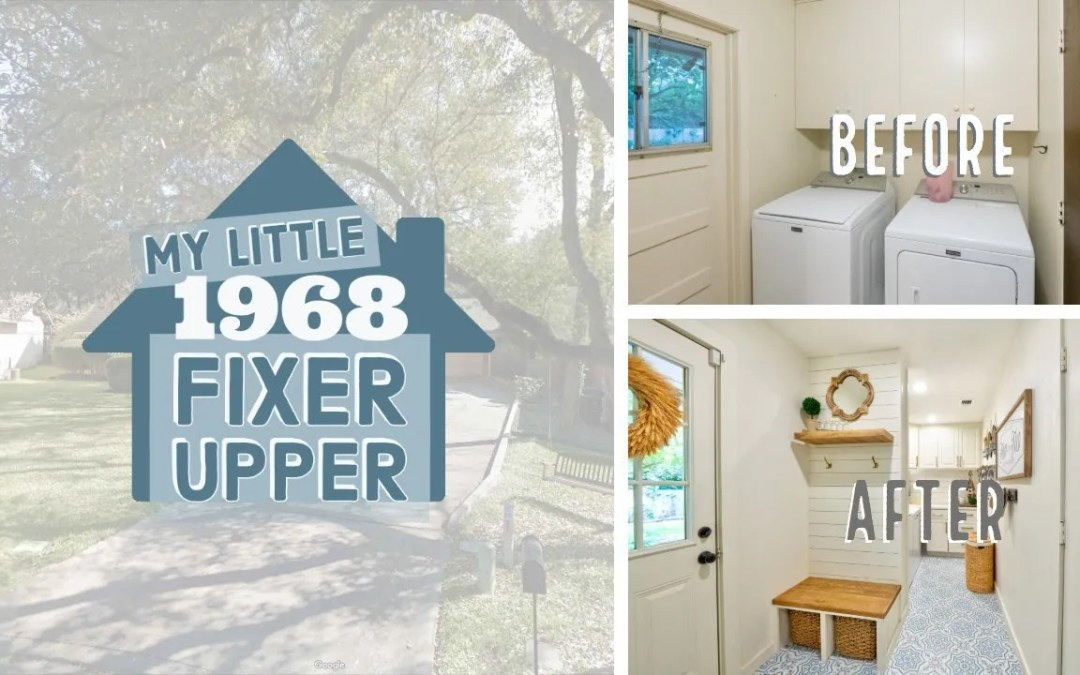 Our 1968 Fixer Upper – DIY Remodeling