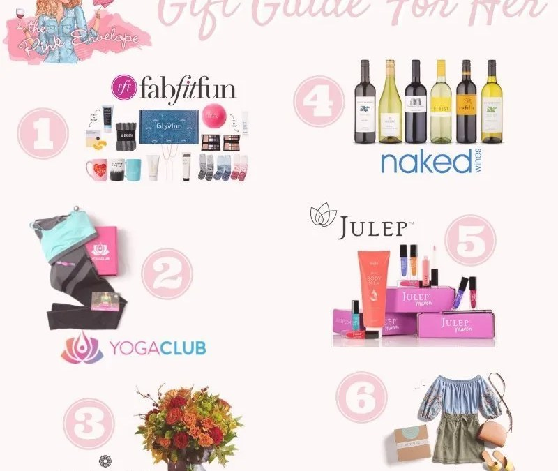 Subscription Box Gift Guide for Her