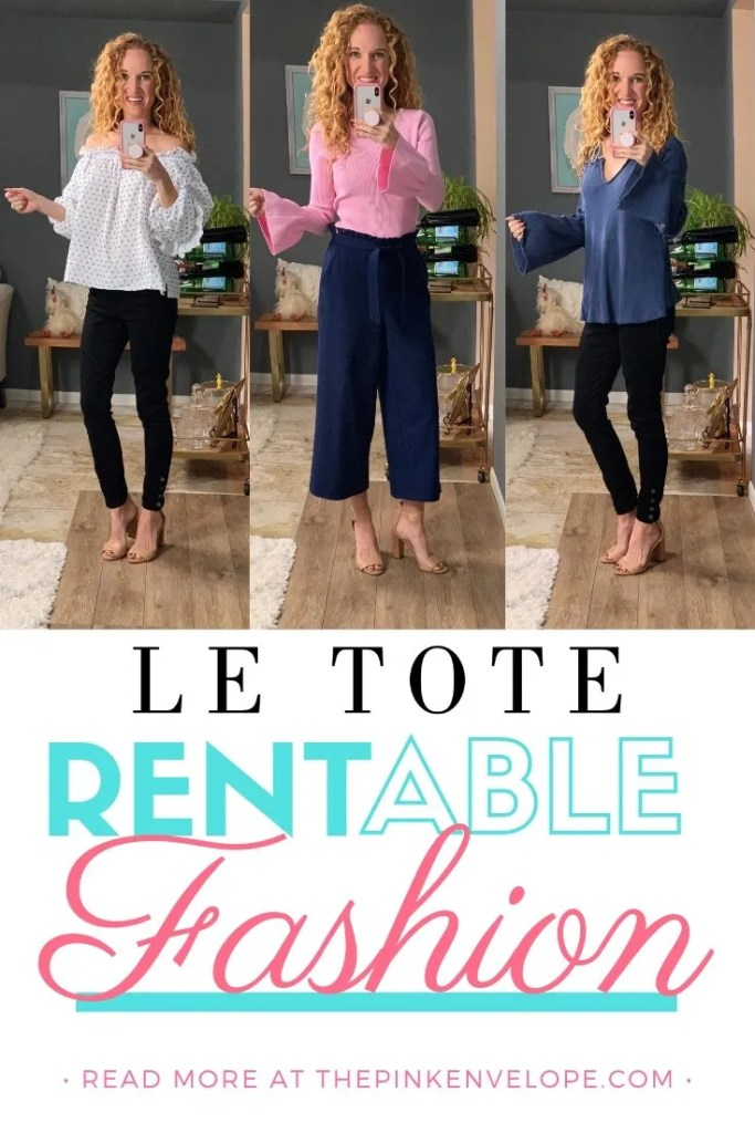 Le Tote Review - Rent Your Fashion This Season with LeTote and get all your clothing styled and mailed to you!