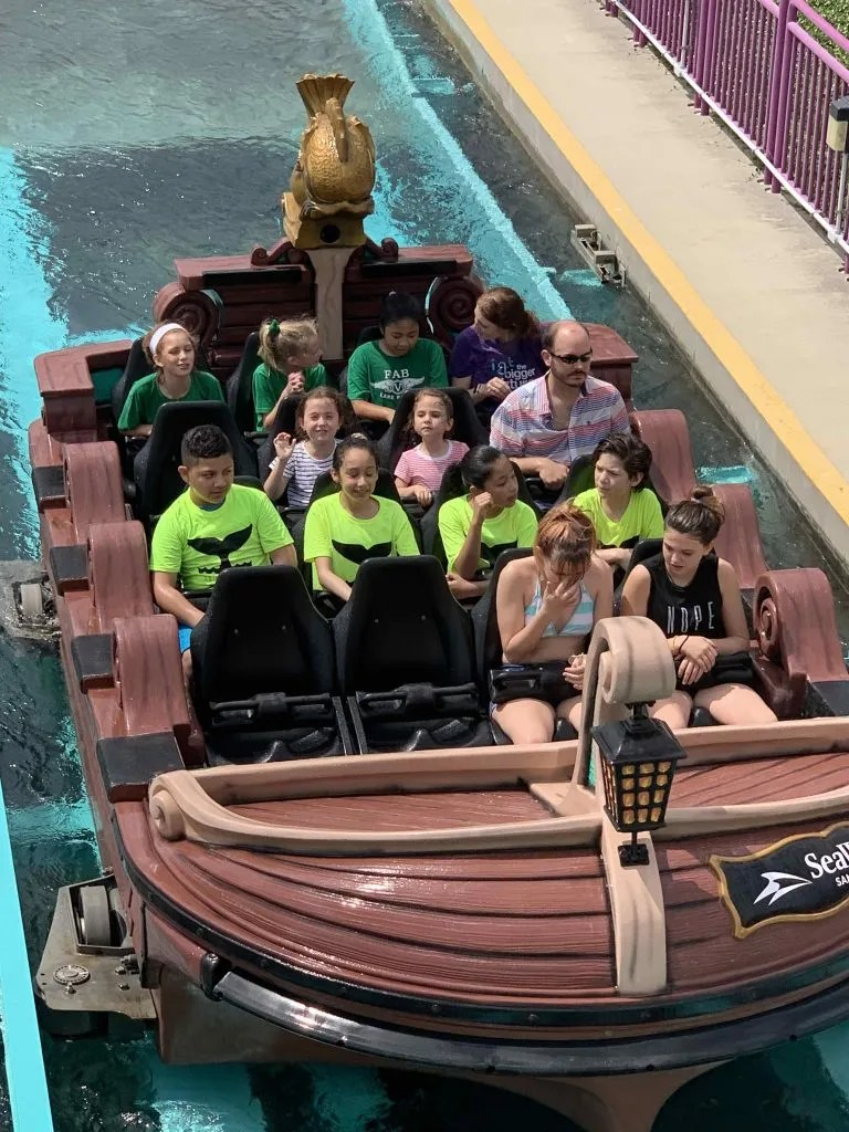 Sea World Rides for Kids