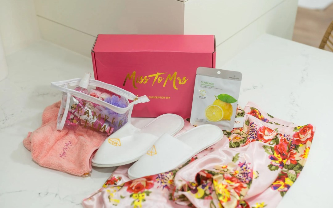Miss to Mrs Box – Bridal Subscription Box