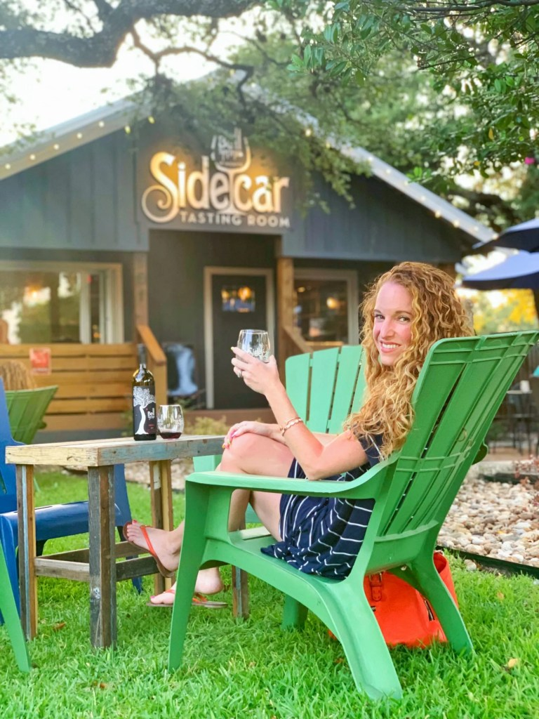 sidecar wine bar dripping spring TX