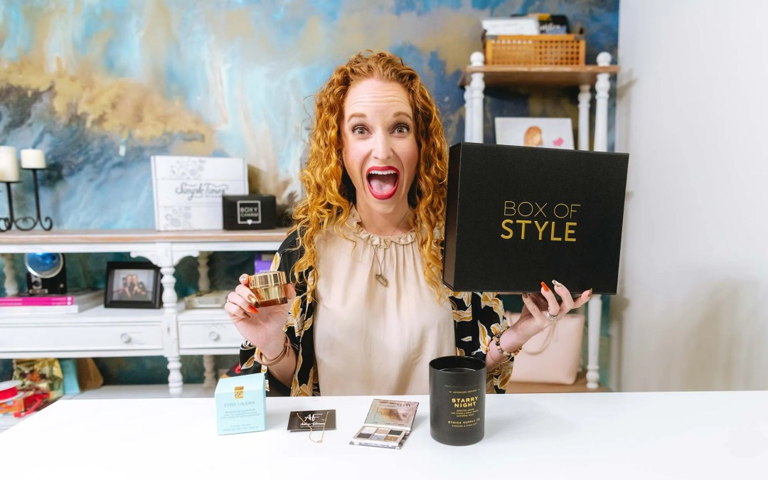 Box of Style by Rachel Zoe Unboxing (now Curateur)
