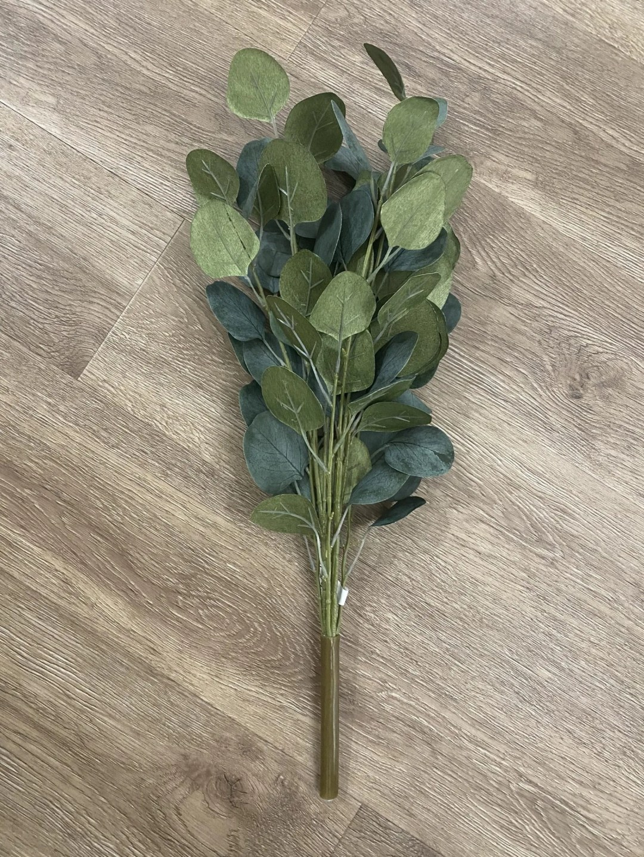 Faux Eucalyptus stems bunch