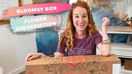 Bloomsy Box Review – Flower Bouquet Subscription