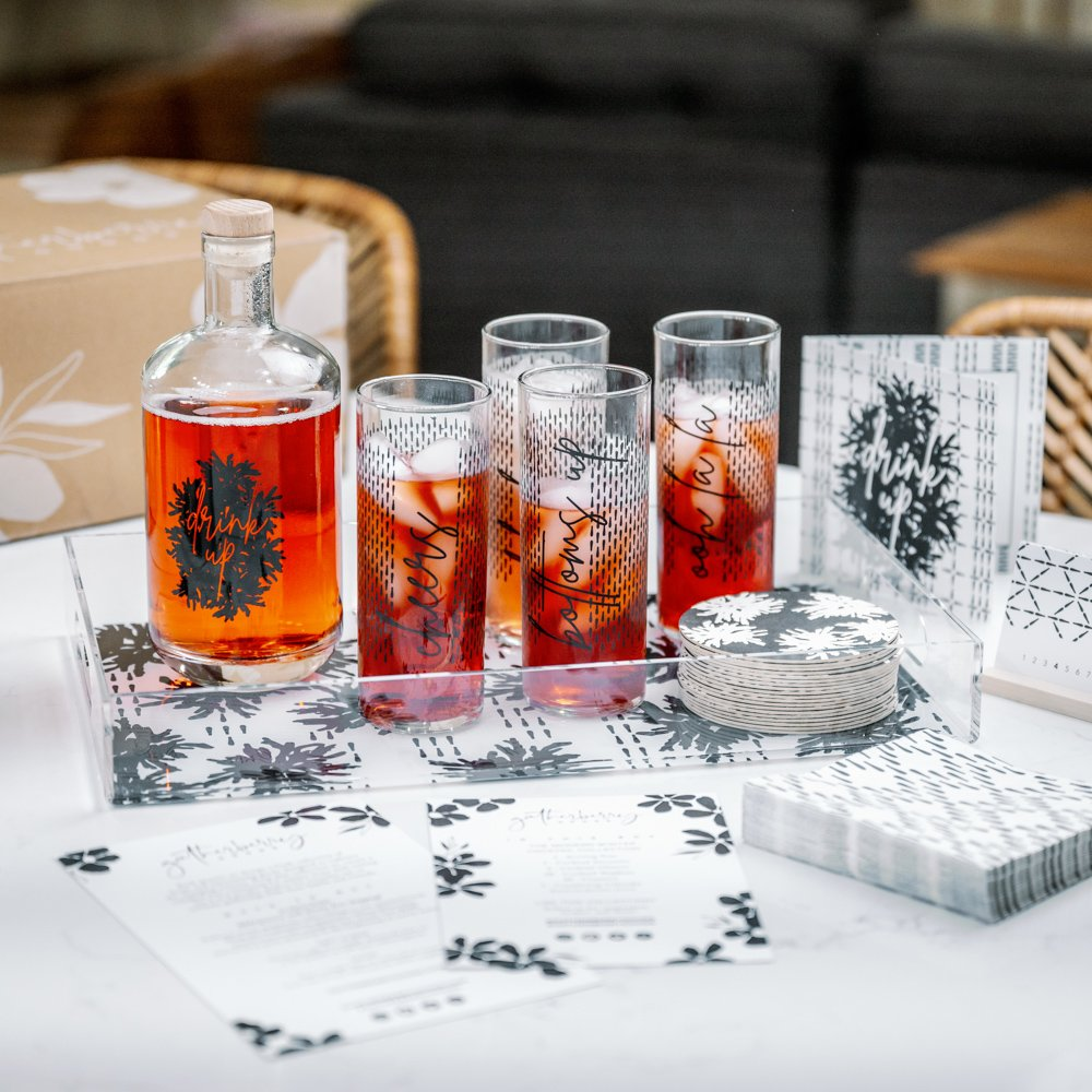 Gatherberry Goods Modern Winter Cocktails