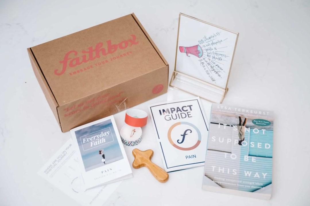 Faithbox Overcoming Pain Box
