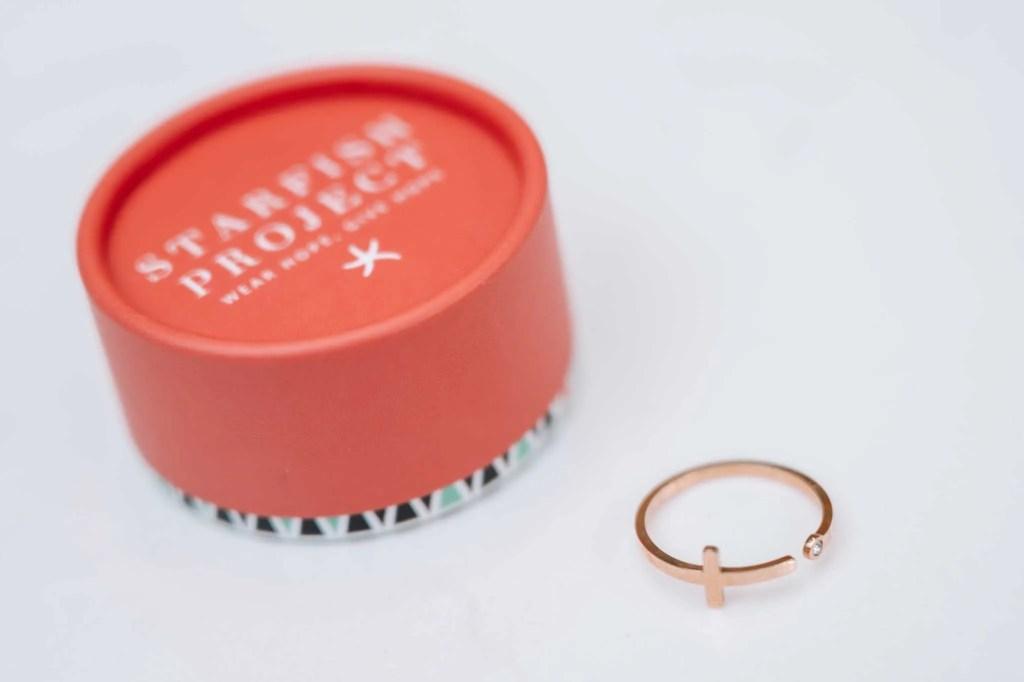 Faithbox Starfish Project Ring