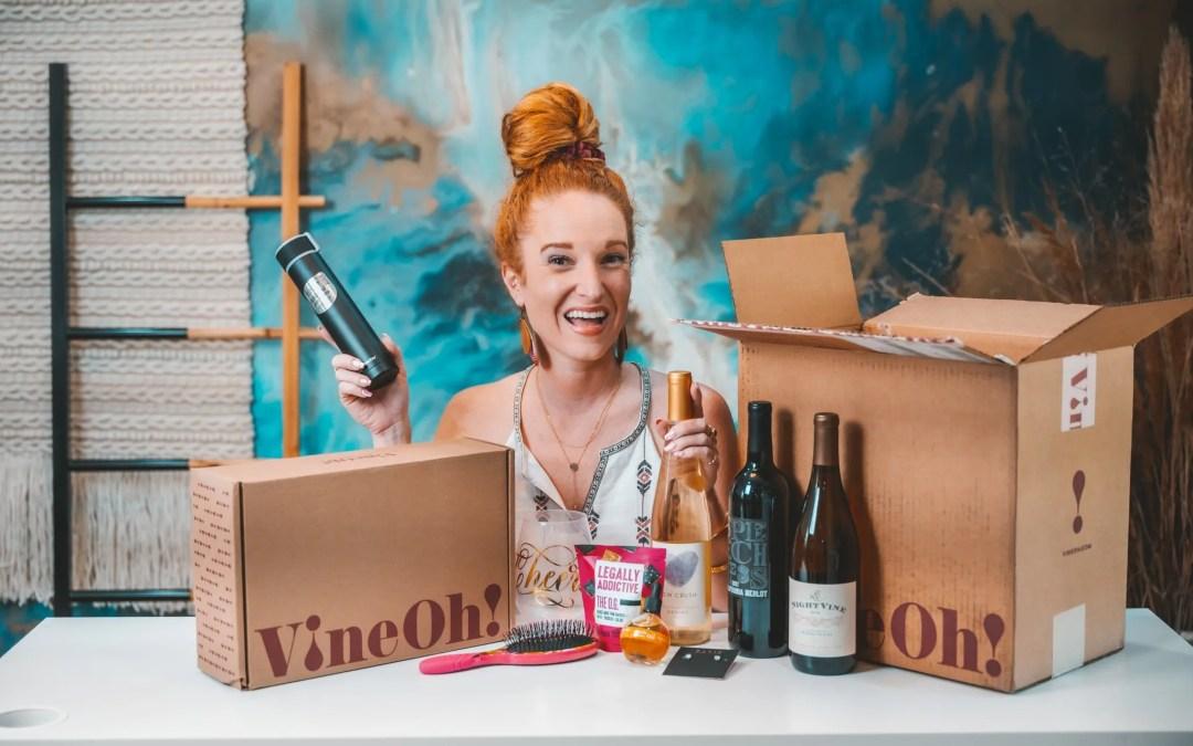 VineOh Spring 2021 Box – Wine & Lifestyle Subscription Box