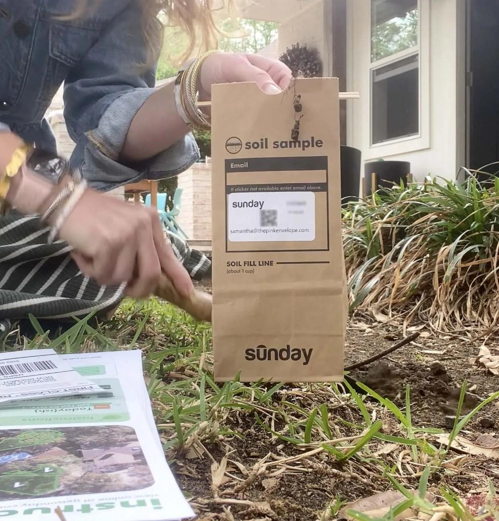 Sunday Lawn Soil Sample Test