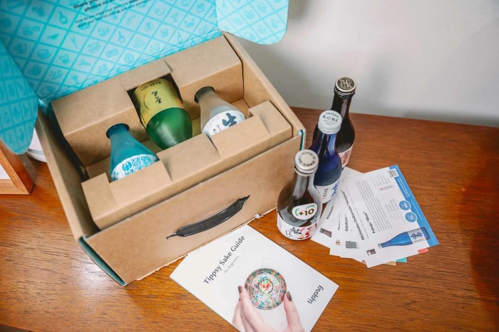 Sake Tasting Subscription Box