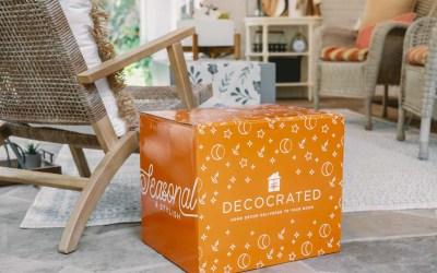 DecoCrated Fall 2021 Box Video – SPOILER