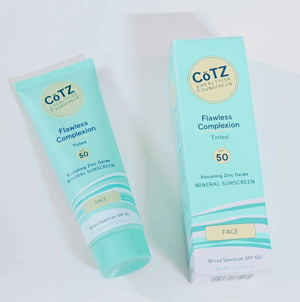 Cotz Flawless complextion tinted spf 50
