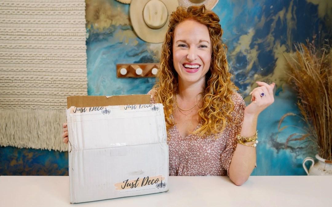 Just Deco Fall 2021 Box – Fall Home Decor Box