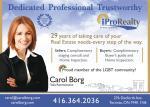 Borg, Carol – iPro Realty, Ltd. Brokerage
