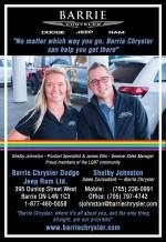 Barrie Chrysler Dodge Jeep Ram Ltd.