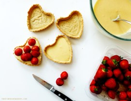 Strawberry Tarts 3 - The Pink Rose Bakery