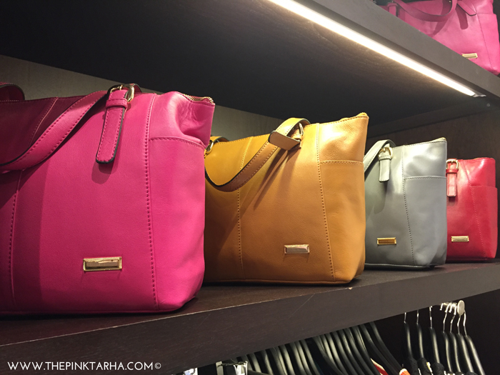 The yummy colors extend on bags too!