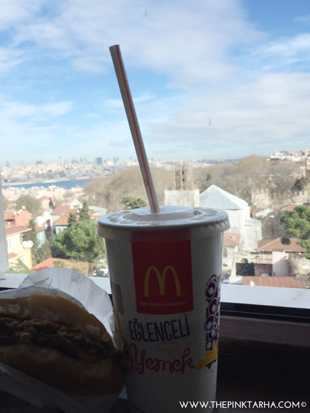 Fast food in Istanbul