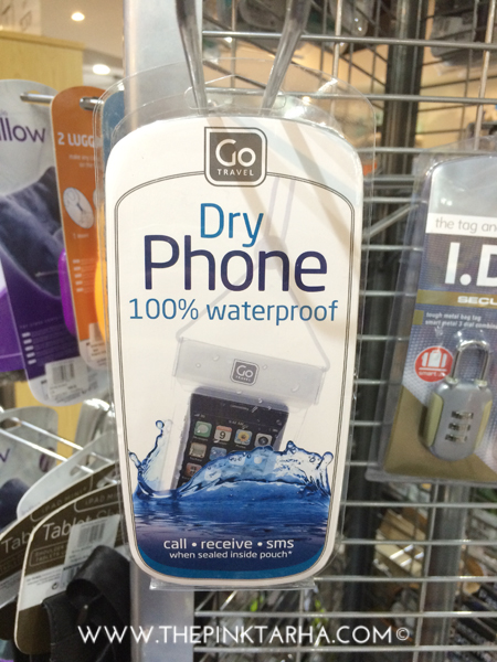 Hitting the beach this summer? This can keep your phone dry while taking selfies.