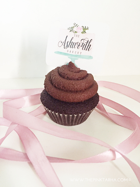 Chocolate Cupcake with Chocolate Frosting, SR 8 each