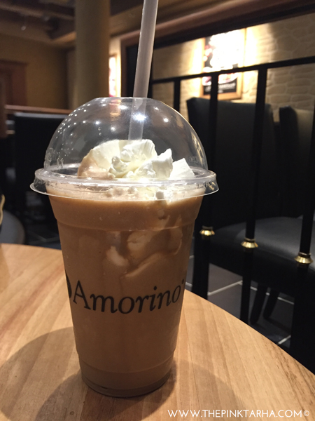 Frappe for those who drink their coffee cold and sweet.