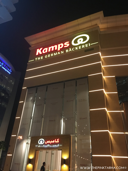 Kamps, the German bakery, is now open in Riyadh!