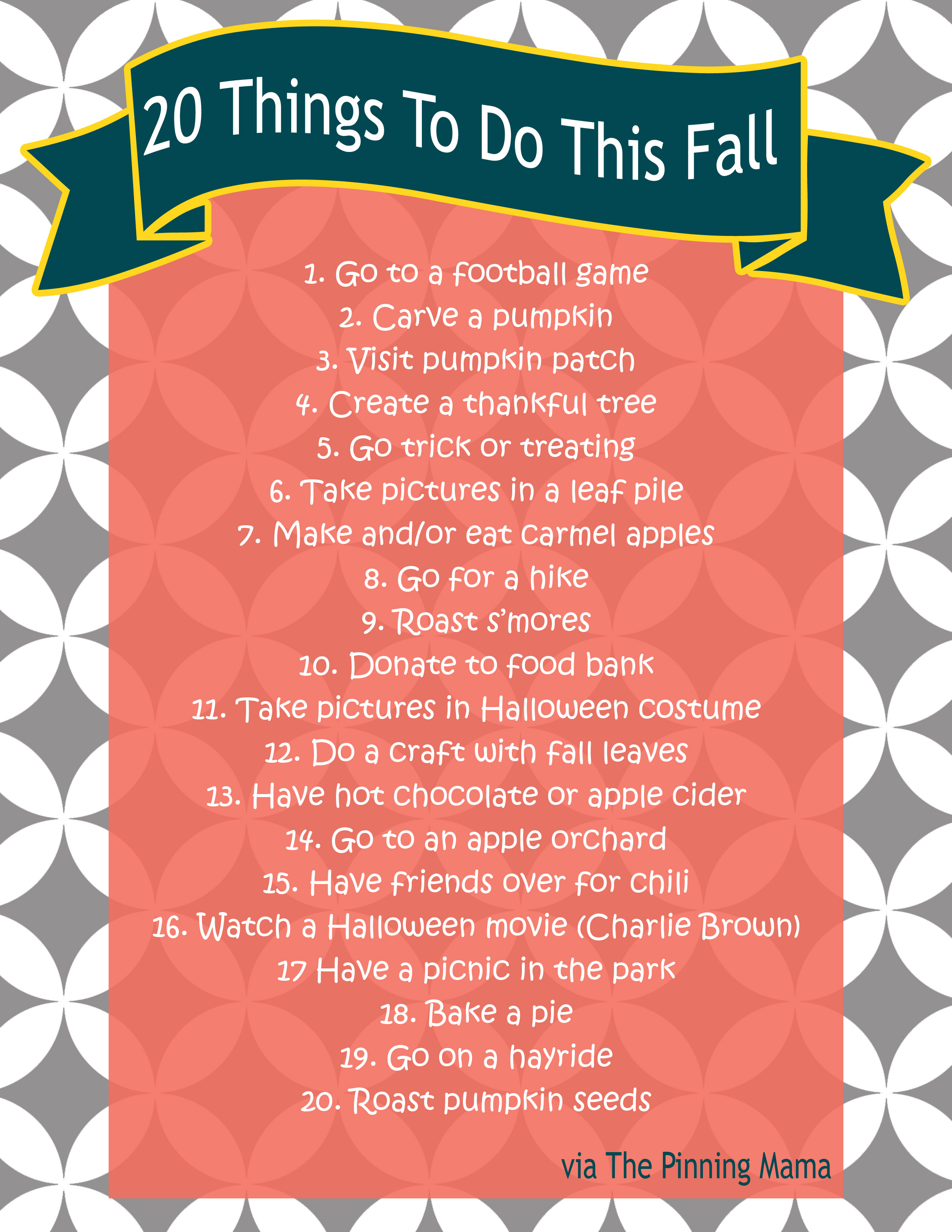 Fall Bucket List 20 Fall Ideas And Activities For Kids