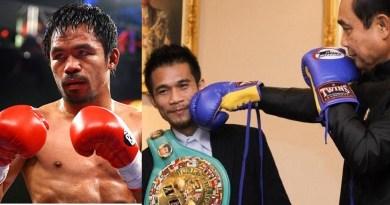 Filipino boxing champ